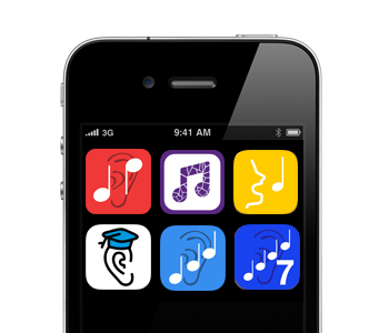 Easy Ear Training aural skills apps for iOS