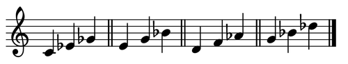 Four Diminished Triads