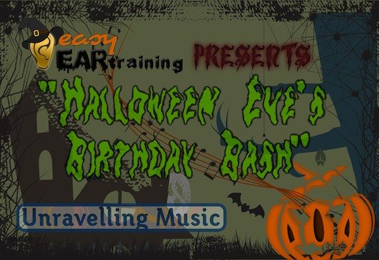 New FREE ear training download – Happy Halloween!