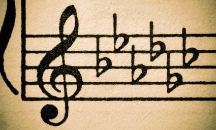Music transcription tips: Find the key!