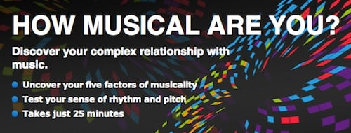 Take this Musicality Test to find out how musical you are