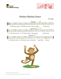 Easy Ear Training - Monkey Rhythm Dance