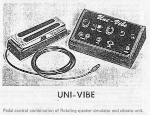 A Vintage Univibe Effects Unit
