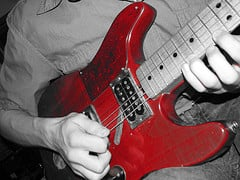 The guitar has many different techniques that can alter the sound (Photo by Christina Welsh -Rin @Flickr)