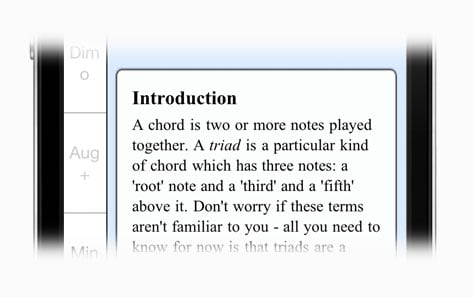 Chordelia: Triad Tutor teaches you all the theory you need to know