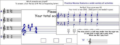 Practica Musica Ear Training Exercises