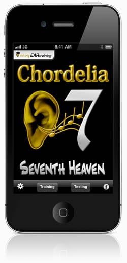 Learn seventh chords with the new iPhone ear training app