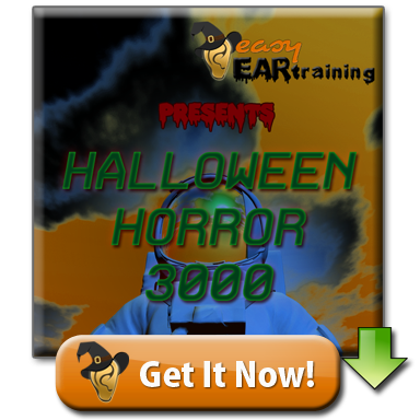 Download free halloween ear training track for horror, sci-fi and aural skills development
