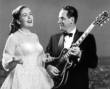 Mary Ford and Les Paul worked together to create new sounds