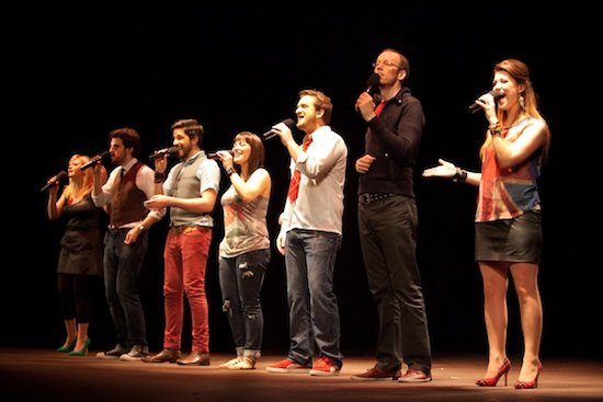 The Swingle Singers, a leading and legendary a cappella group