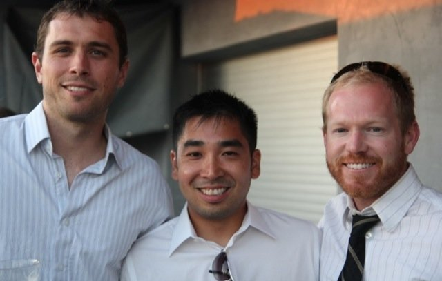 The Hooktheory team: David Carlton, Ryan Miyakawa and Chris Anderson