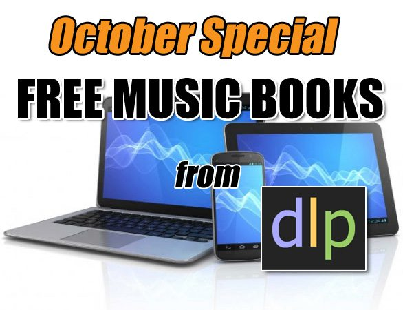 This October: Learn Your Instrument Free With dlp!