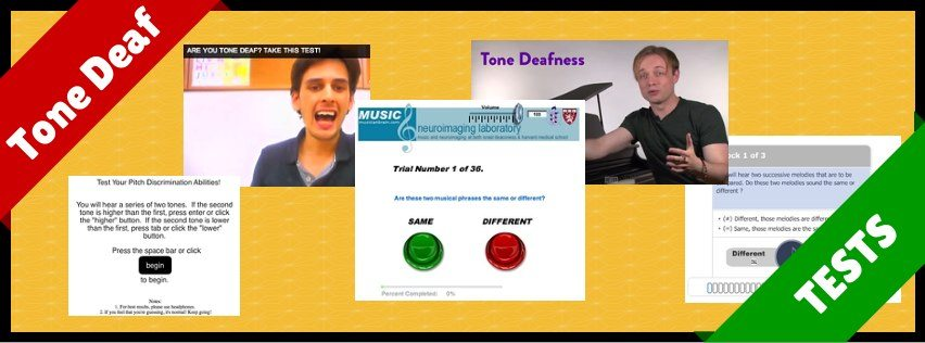 Tone Deaf Tests Online