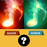 Learn to hear major vs minor