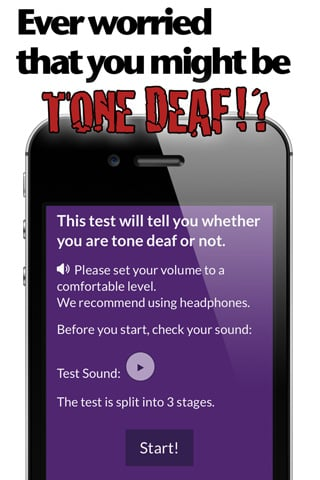 Tone Deaf Test App For Iphone And Ipad Test Your Musical Ears