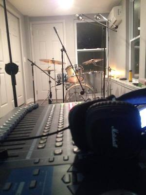 Recording drums the natural way
