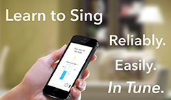 Learn to sing in tune