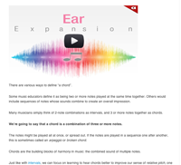 chord ear training intro