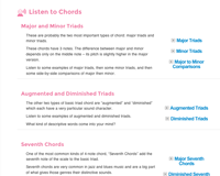 chord ear training listen