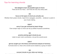 chord ear training tips