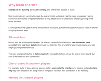chord ear training why