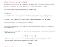 chord progressions ear training how