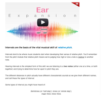 interval ear training intro
