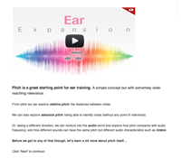 pitch ear training intro