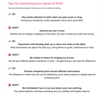 pitch ear training tips