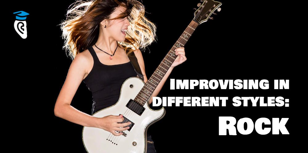 Improvising in different styles: Rock