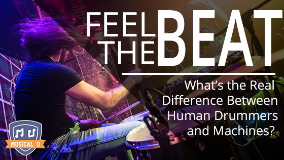 Feel the Beat: What's the Real Difference Between Human Drummers and Machines?