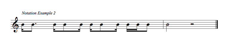 TR6 NOTATION EX unlabelled
