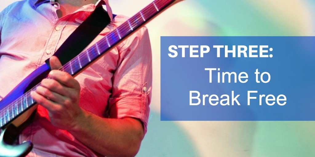 Guitar Improvisation: Step three, Break Free