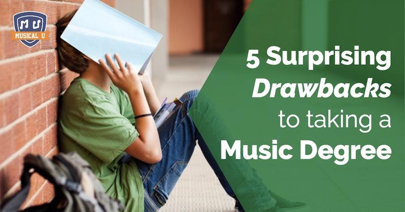5 Surprising Drawbacks to taking a Music Degree