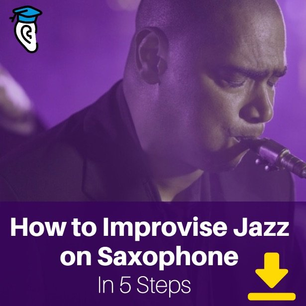 Download How to improvise jazz on saxophone in 5 steps