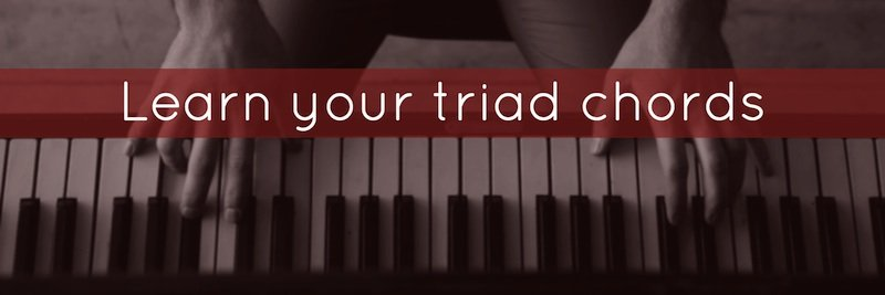 Learn your triad chords sm