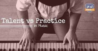 Talent vs Practice in Music sm