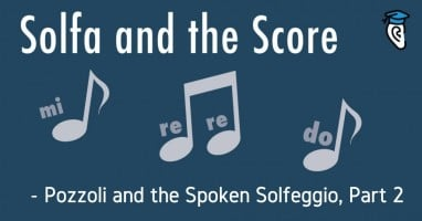 Pozzoli and spoken solfeggio part 2 sm