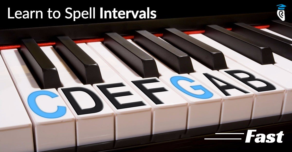 How To Learn To Spell Intervals Fast Musical U
