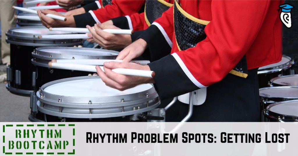 Common Rhythm Problem Spots: Getting Lost