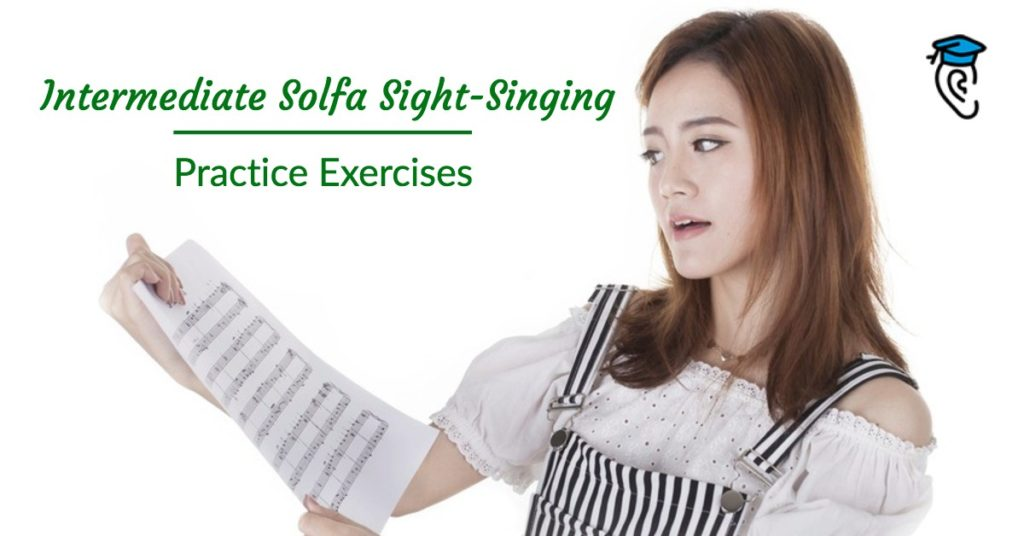 Intermediate Solfa Sight-Singing Practice Exercises