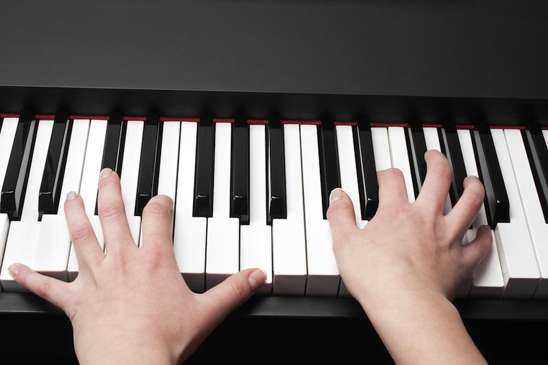 Playing chords on piano