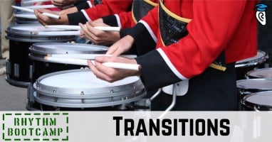 Rhythm problem spots-transitions