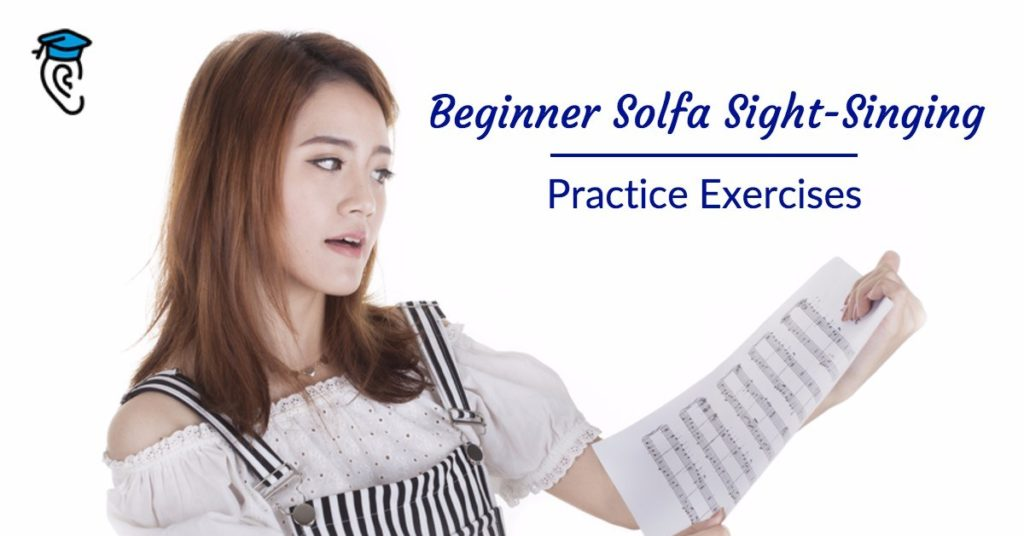 Beginner Solfa Sight-Singing Practice Exercises