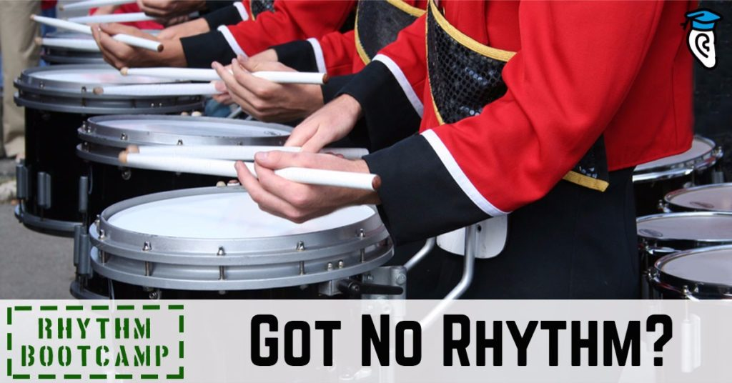 Rhythm Bootcamp: Got No Rhythm?