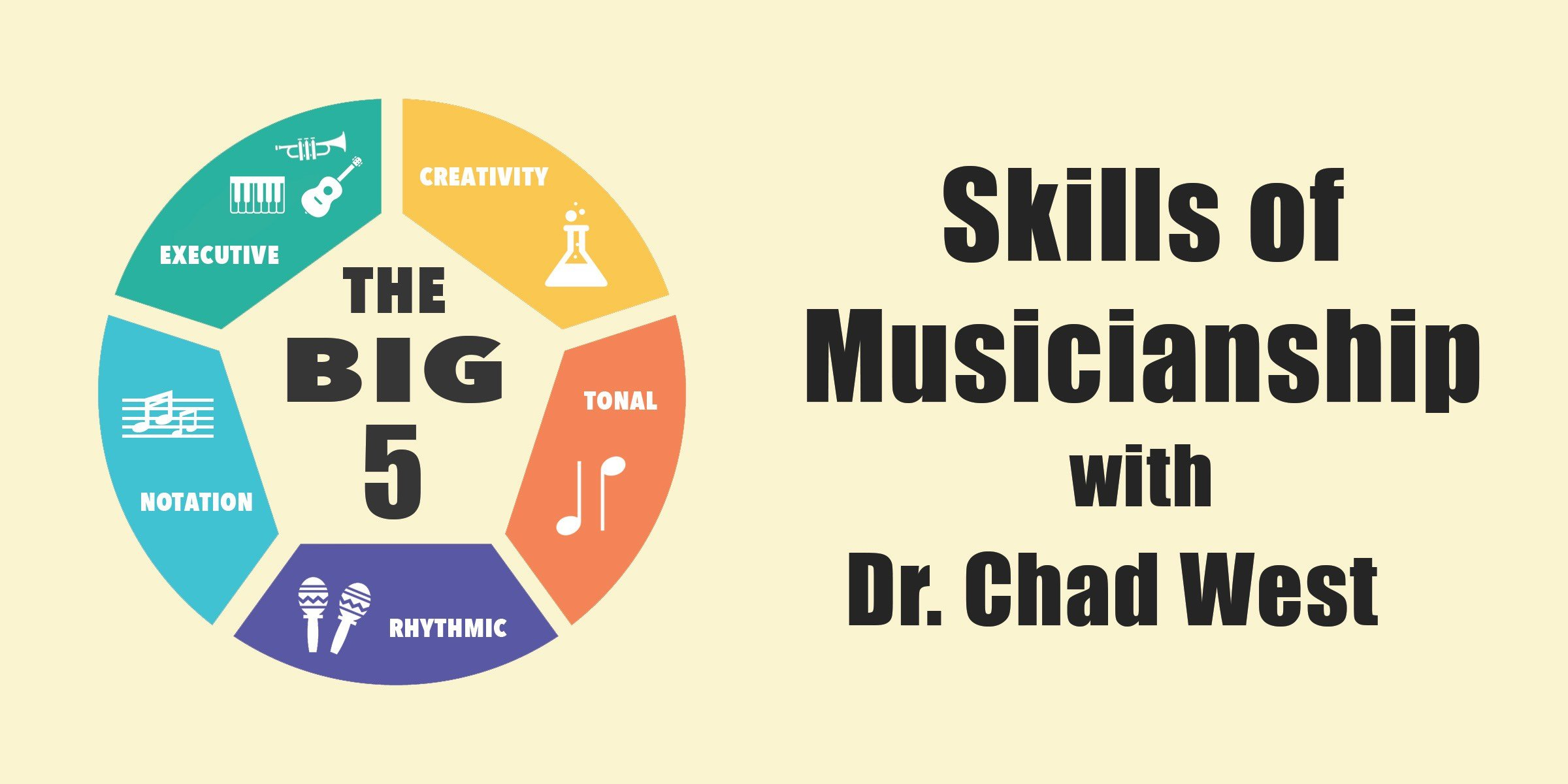 "The ""Big 5"" Skills of Modern Musicianship, with Dr. Chad West (Interview)"