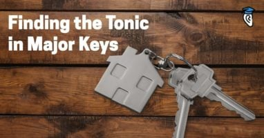 Finding the tonic in major keys-800