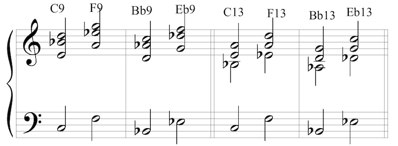 Jazz Chords Made Easy - Dom9 and 13 resize