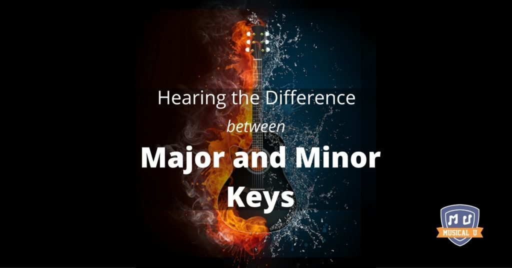 Hearing the Difference between Major and Minor Keys