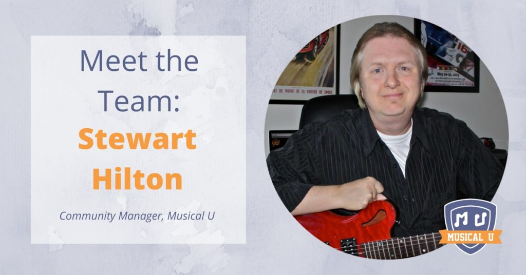 Meet the Team: Stewart Hilton